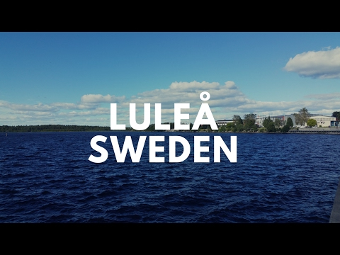 Luleå Sweden Bicycle Trip