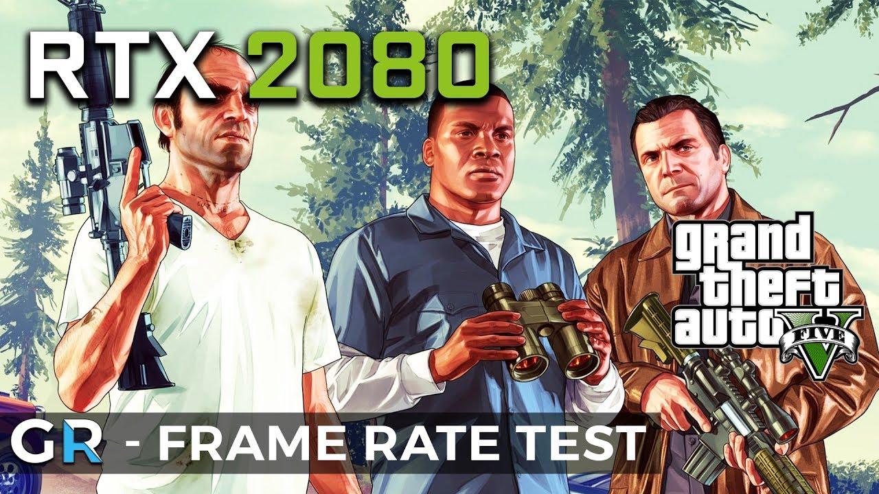 RTX 2080 GTA 5 | 1080p/1440p/Max Settings | Frame Rate Benchmark Test