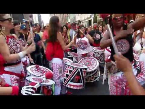BATALA NYC: Afro Brazilian all female drum Ensemble @ Festival Brazil 2016