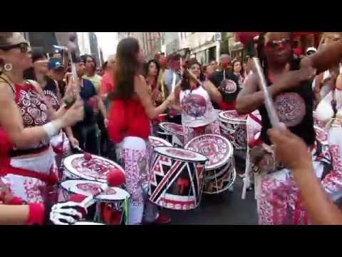 BATALA NYC: Afro Brazilian all female drum Ensemble @ Festival Brazil 2016