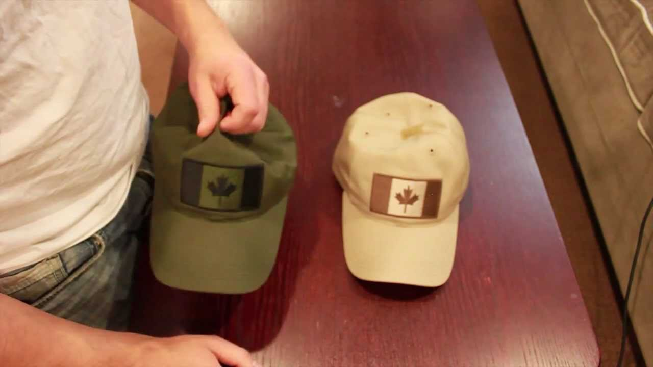 8afd340b528 Tactical Tailor Canada Flag Hat - YouTube