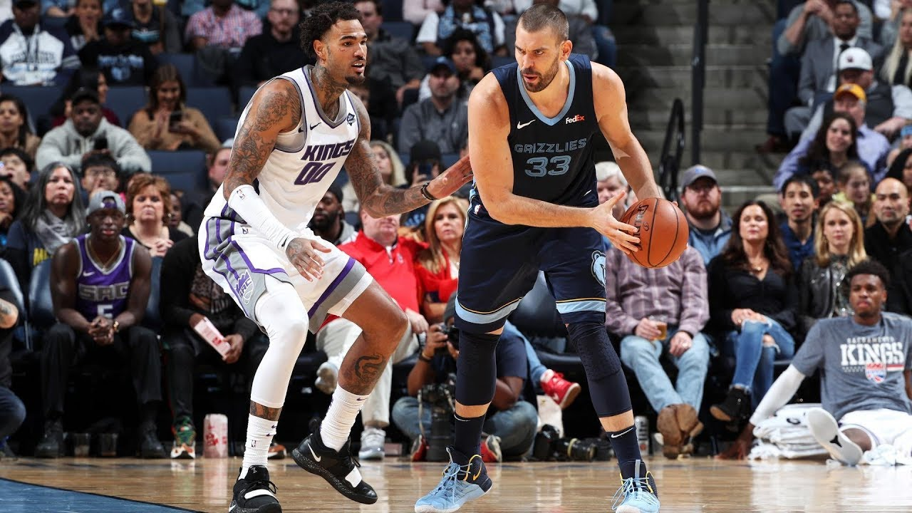NBA Sacramento Kings vs Memphis Grizzlies Nov 16, 2018