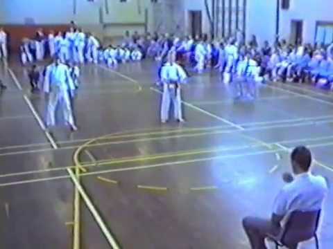 JKA Western Australian Inaugural State Championships 1988.