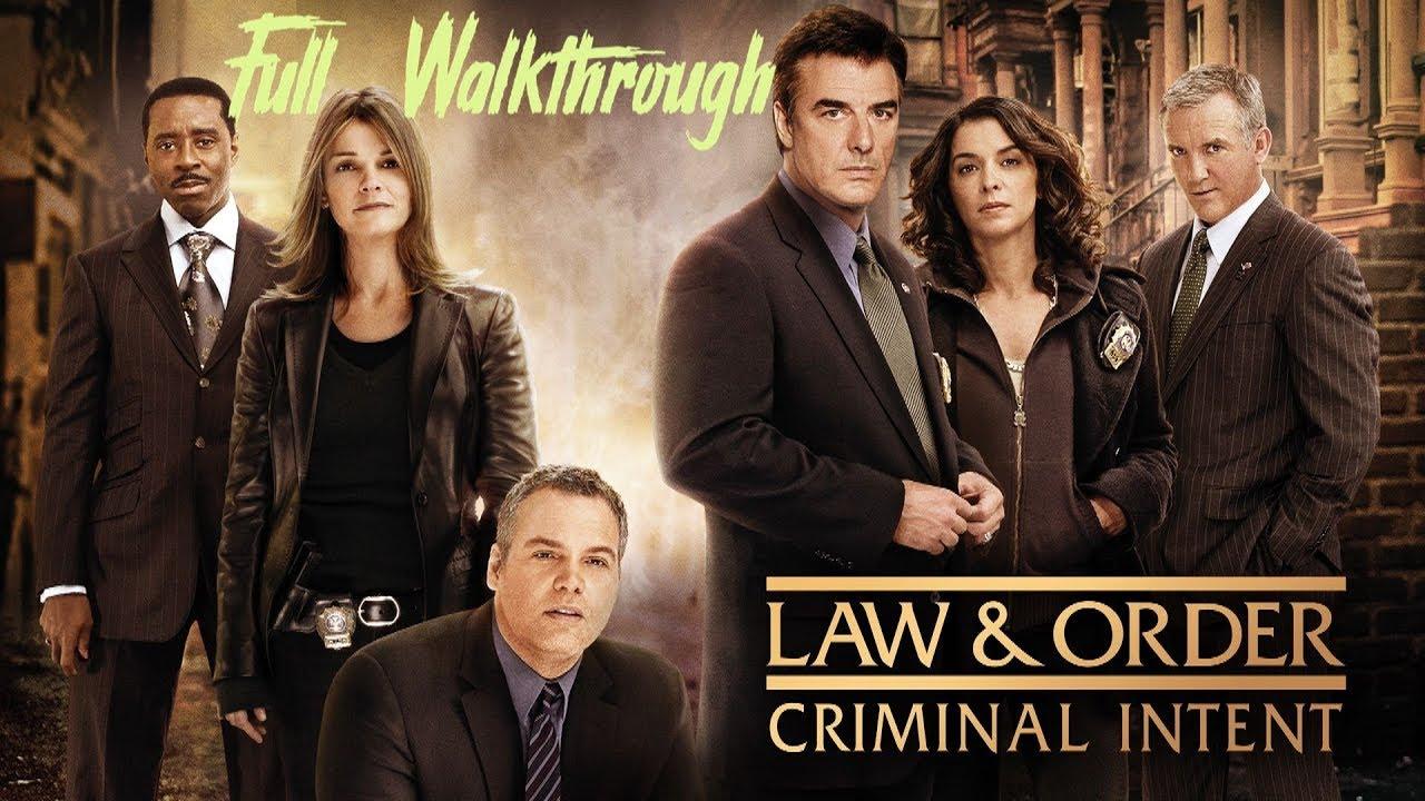 Download Law & Order Criminal Intent - Full Walkthrough (HD)