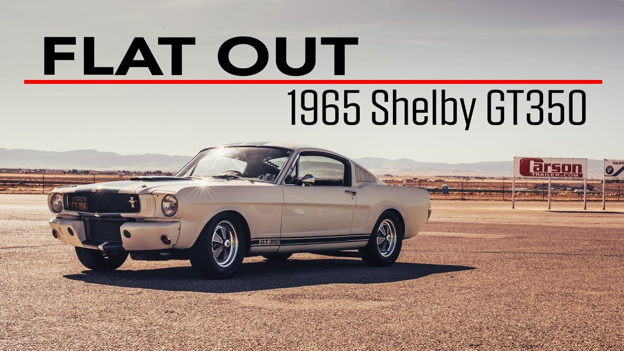 900 1965 shelby gt350 gets a track day workout flat out ep 3