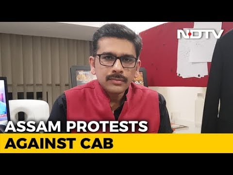 NDTV Newsroom Live: Protests In Northeast Over Citizenship (Amendment) Bill - YouTube