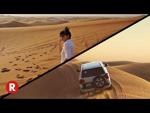 Desert Safari in Dubai, UAE // 4×4 Dune Bashing, Camel Riding, Belly Dancing, & BBQ Dinner!