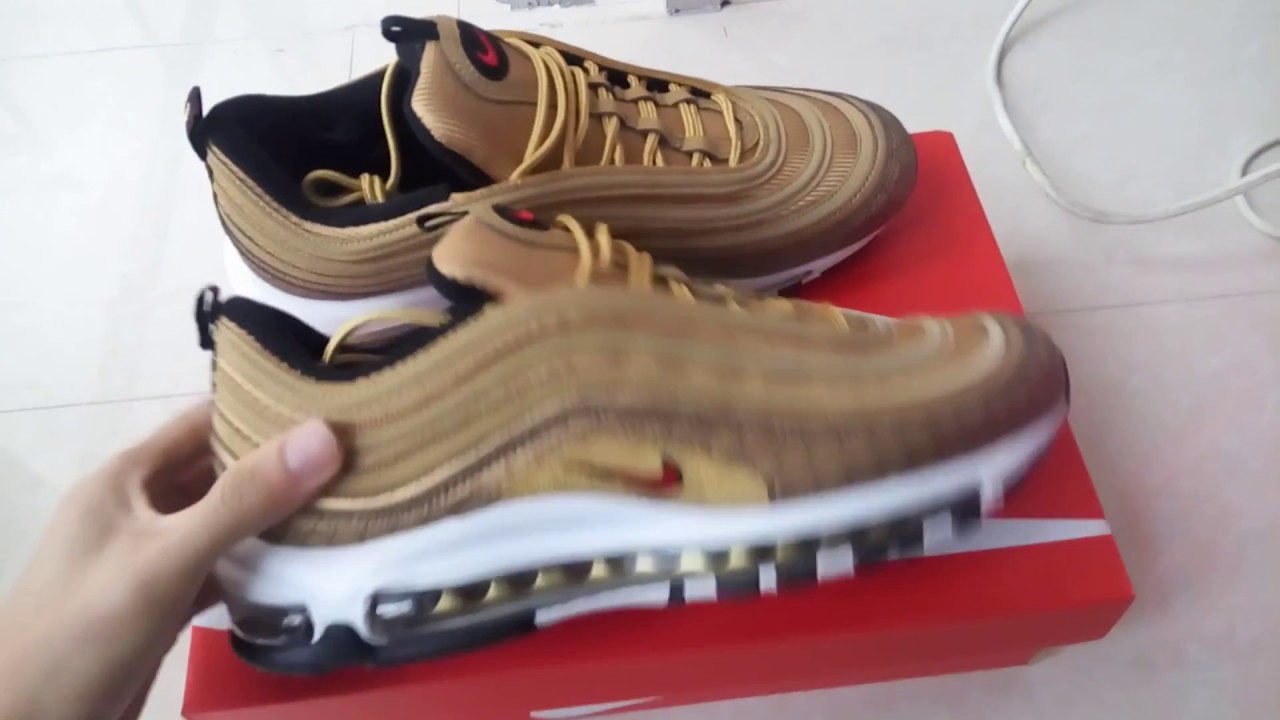 ca2b58ddfaa2 Gucci x Nike Air Max 97 - YouTube