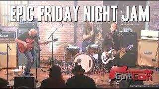 Скачать EPIC Friday Night Live Jam At GuitCon