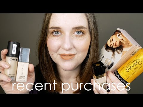 Recent Purchases - Sephora, Idun Minerals, Cover FX, Walgreens