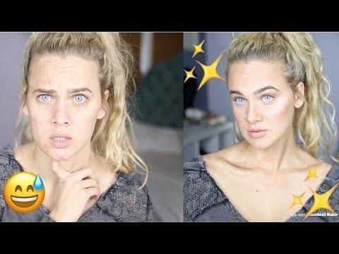 Fresh, No Foundation, Glowy Makeup | Glossier | India Batson