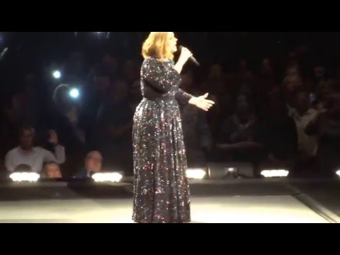 Adele - Hello - Live in Birmingham 2/4/2016
