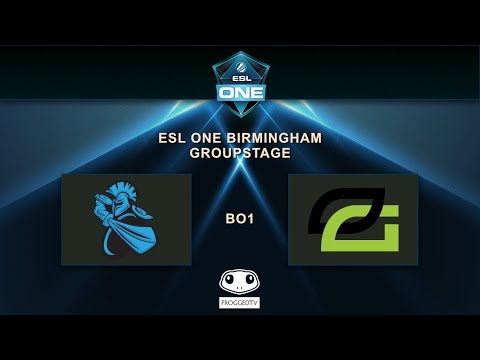 [ESL ONE BIRMINGHAM] - OPTIC vs NEWBEE - Group GSL - Opening Match
