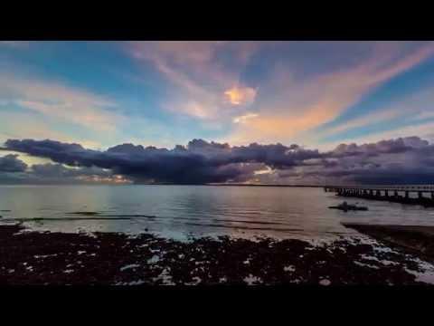 Sunrise at Wellington Point, Brisbane