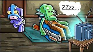 Minecraft Grampy - DON'T WAKE GRANDPA! (Granny Horror Game)