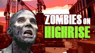ZOMBIES ON HIGHRISE (MODERN WARFARE 2) (Part 3) ★ Call of Duty Zombies Mod (Zombie Games)