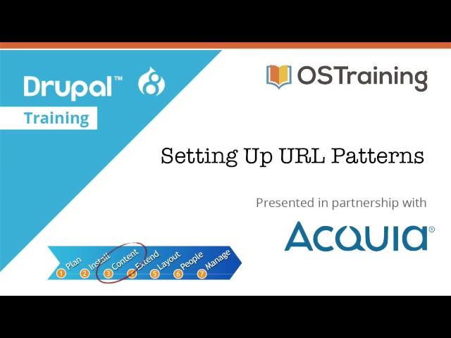 Drupal 8 Beginner, Lesson 29: Setting up URL Patterns (Updated)
