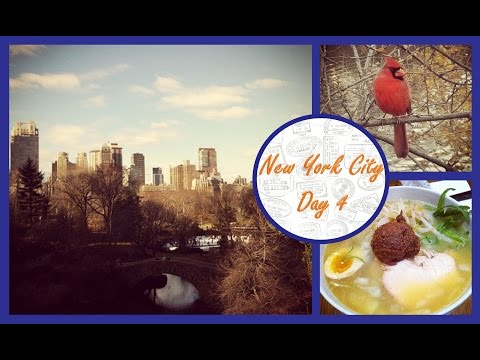 Upper West Side Central Park & Foodie Afternoon - Christmas in New York City (NYC) Day 4