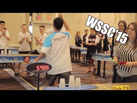 2015 World Sport Stacking Championships!!!!!