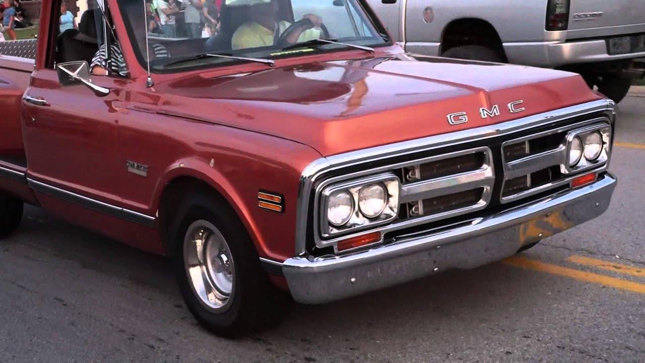 Old School GMC Truck 2014 Wentzville, MO Classic Car Cruise HD Video ...