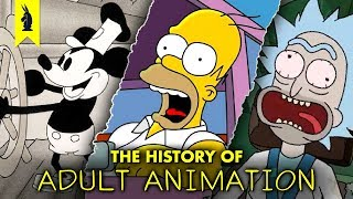 The Weird History of Adult Animation - Wisecrack Edition