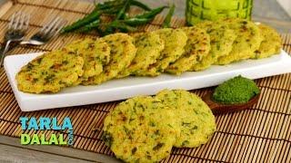 Rice And Besan Pancake By Tarla Dalal