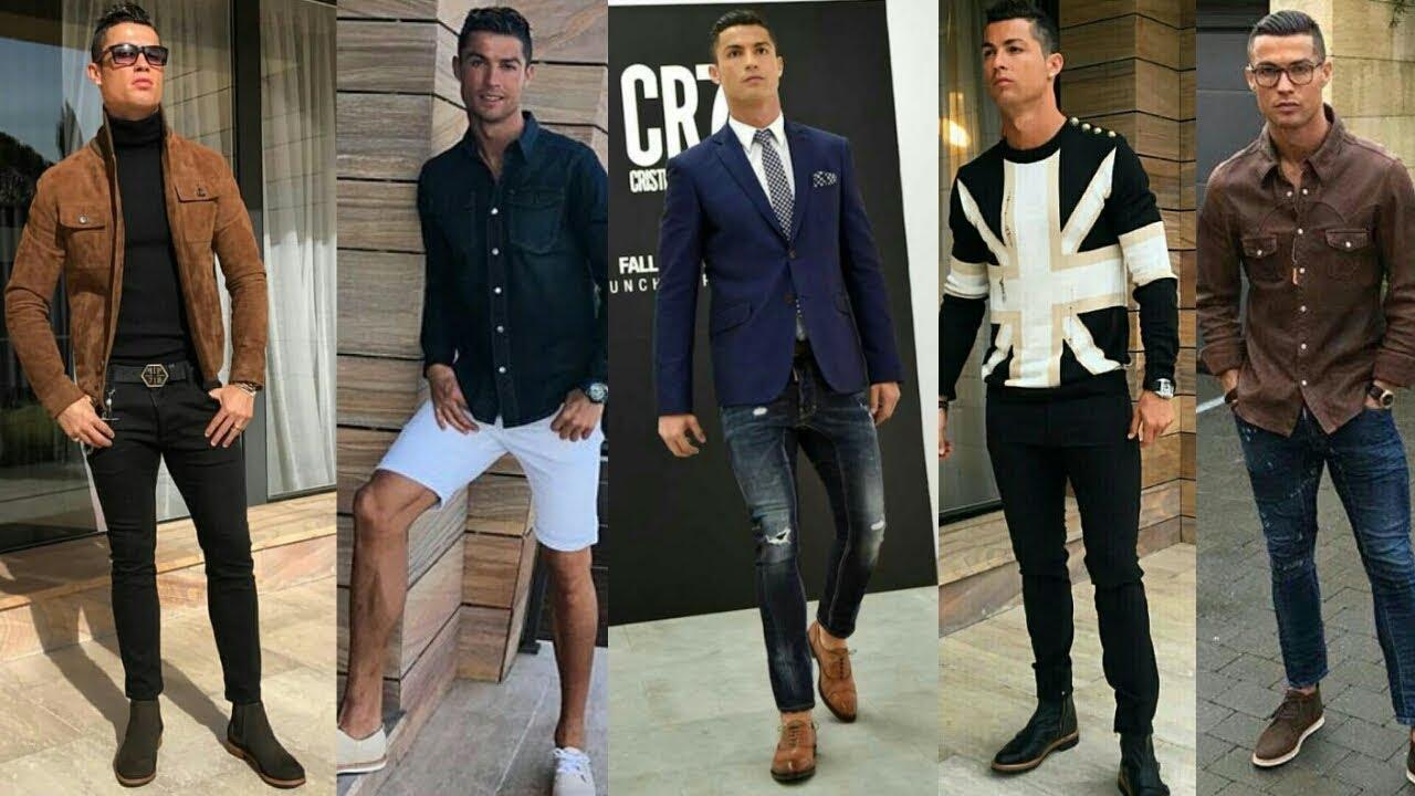 Cristiano Ronaldo Casual Style Looks Cristiano Ronaldo Fashion Style