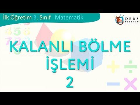 KALANLI BÖLME İŞLEMİ-2