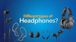 Different Types of Headphones Hindi