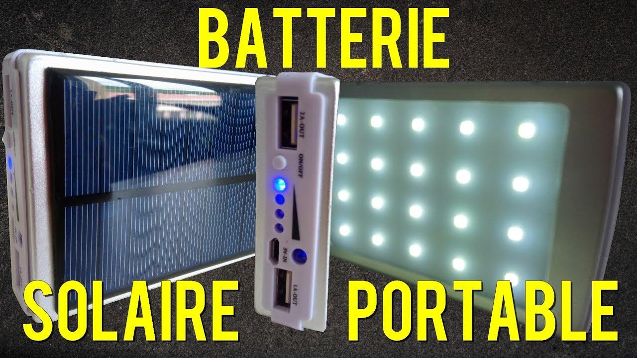 Top DIY fabriquer batterie solaire portable usb ▻ EBAY 6€ / Solar  NY41