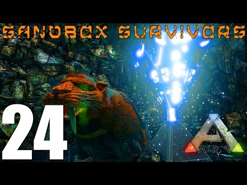 ARK: Survival Evolved - CAVING AND TITANBOA EGG FARMING! - S1EP24 Gameplay