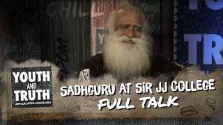 sadhguru at sir jj college of architecture  mumbai     youth and truth  full talk
