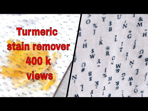 How To Remove Turmeric Stains From Clothes/Haldi ke daag kaise nikale?