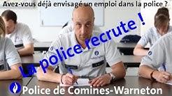 Un emploi à la police de Comines-Warneton ?
