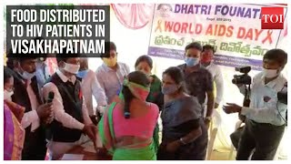 World Aids Day: Food distributed to HIV patients in Visakhapatnam