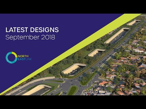 North East Link - Latest Designs September 2018