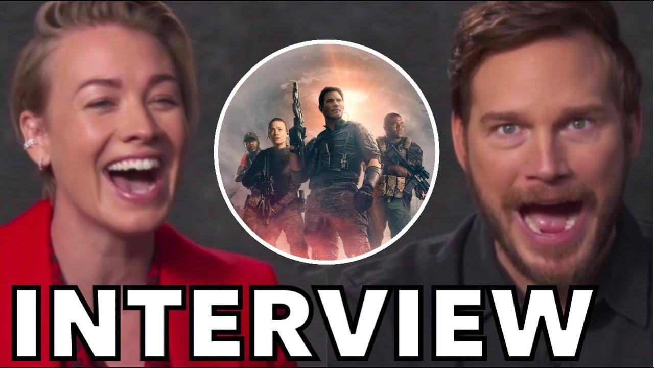 Chris Pratt and Yvonne Strahovski Talk THE TOMORROW WAR | FUNNY INTERVIEW