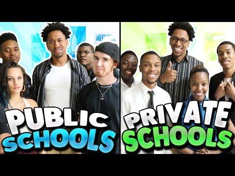 PUBLIC SCHOOL vs.PRIVATE SCHOOL