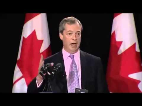 UKIP Nigel Farage - Speech in Canada 2013