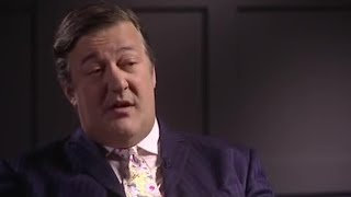 Stephen Fry talks about manic depression - BBC celebrity interview