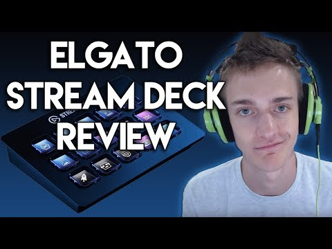 Ninja Reviews the Elgato Stream Deck