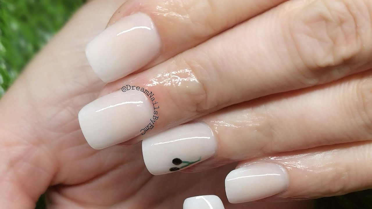 Real Time application   Short square baby boomer nails   # ...