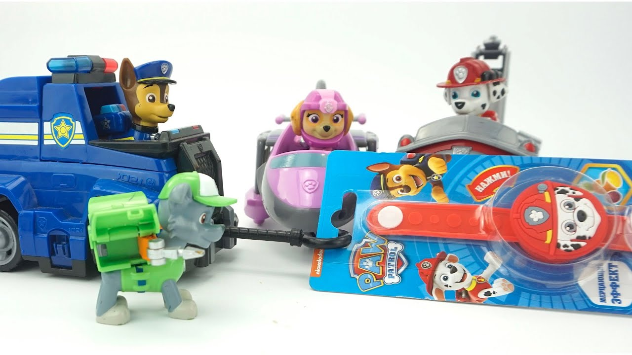 Щенячий патруль сюрпризы и игрушки из мультика.