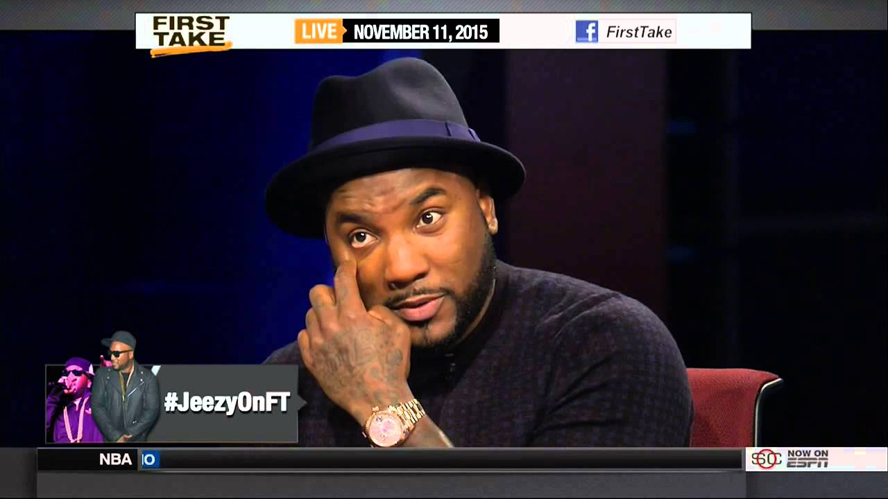 "Jeezy Talks About ""Church In These Streets"" On ESPN's First Take"