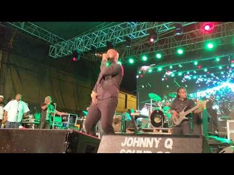 Bunji Garlin performing Vintage Garlin LIVE at Central Bank All-inclusive 2018
