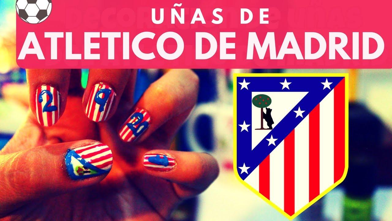 Uñas Pamboleras Del Atlético De Madrid Youtube