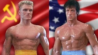 ROCKY IV ⭐ Then and Now 1985 vs 2019