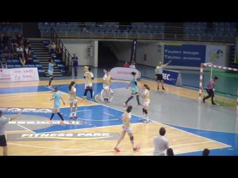 LFH Toulon Saint Cyr vs Chambray Handball Play Off Match de Classement Palais des Sports TV 2017