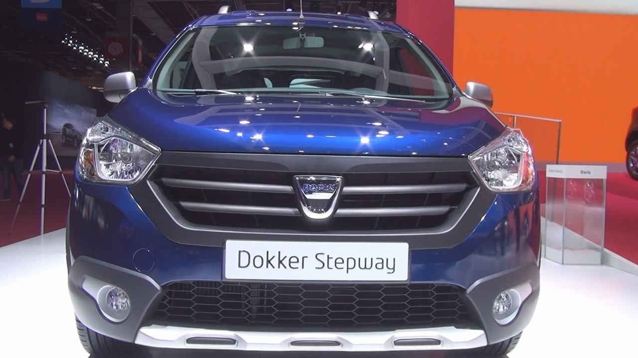 dacia dokker stepway tce 115 2017 exterior and interior in 3d youtube. Black Bedroom Furniture Sets. Home Design Ideas