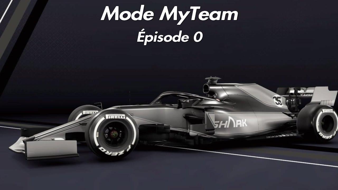 F1 2020 MyTeam S1E0 : LES GRANDS DÉBUTS - YouTube